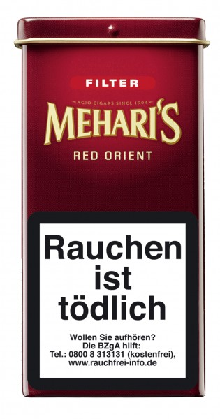 Meharis Filter 5er Red Orient 10x5