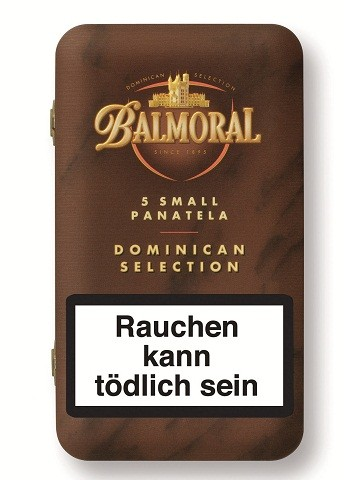 Balmoral Soft Pack Small Panatela 10x5