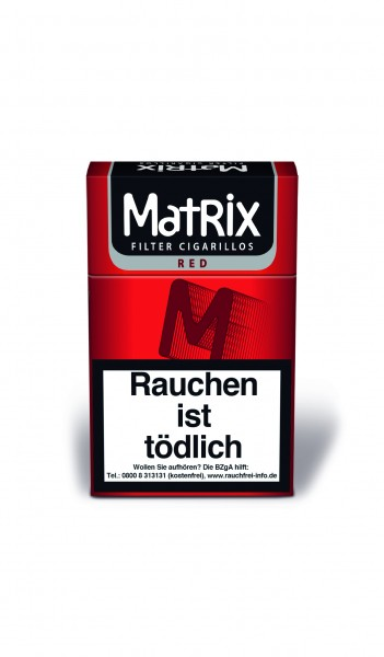 Matrix Filters Red Full Flav. 10x17