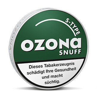 Ozona S-Type Snuff Spearmint 10x1,95