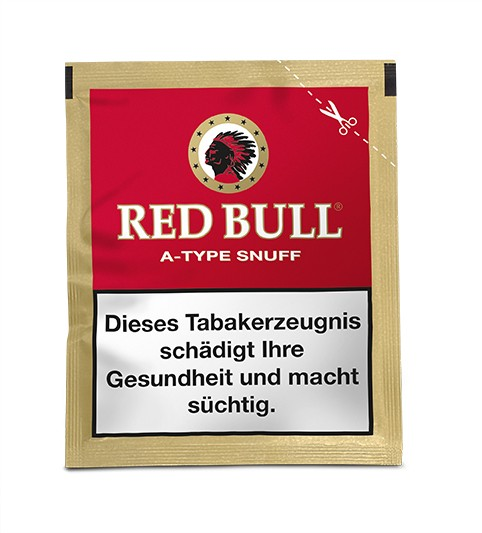 Red Bull A-Type Snuff 10g. 10x2,20