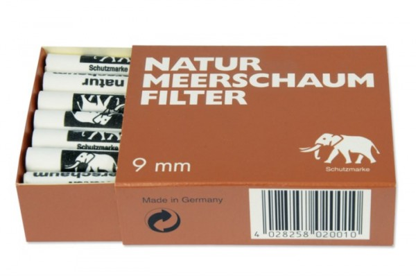 Meerschaumfilter 9mm 210 Filter 1x21,00